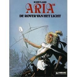 Aria - 014 De rover van het licht - eerste druk 1991 - Lombard uitgaven