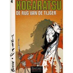 Kogaratsu - 004 De rug van de tijger - herdruk