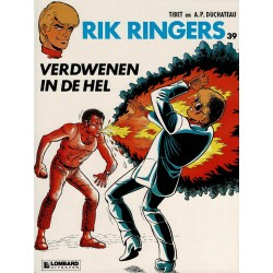 Rik Ringers - 039 Verdwenen in de hel - eerste druk 1984 - Lombard uitgaven