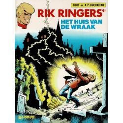 Rik Ringers - 041 Het huis van de wraak - eerste druk 1985 - Lombard uitgaven