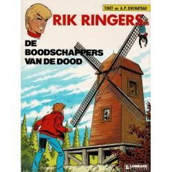 Rik Ringers - 043 De boodschappers van de dood - eerste druk 1987 - Lombard uitgaven