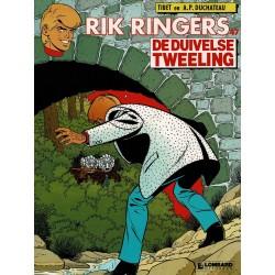Rik Ringers - 047 De duivelse tweeling - eerste druk 1989 - Lombard uitgaven