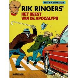 Rik Ringers - 051 Het beest van de apocalyps - eerste druk 1992 - Lombard uitgaven