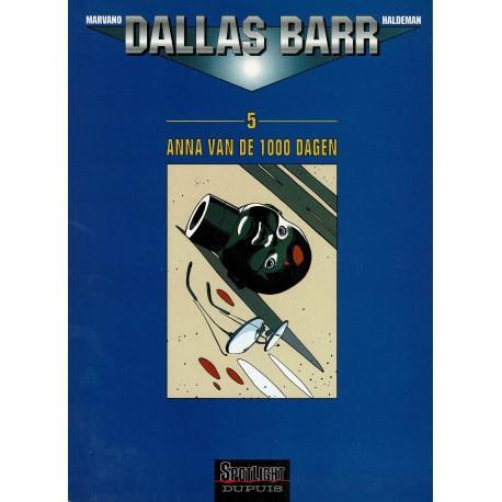 Dallas Barr - 005 Anna van de 1000 dagen - eerste druk 2000