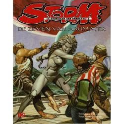 Storm - 012 De zeven van Aromater - eerste druk 1984 - Oberon uitgaven