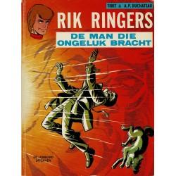 Rik Ringers - 020 De man die ongeluk bracht - eerste druk 1975 - Lombard uitgaven