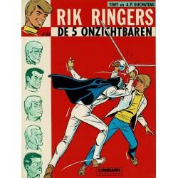Rik Ringers - 010 Rik Ringers en de 5 onzichtbaren - herdruk - Lombard uitgaven