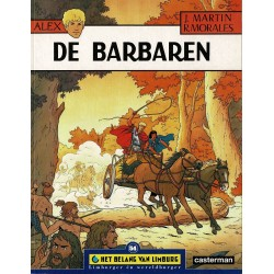 Alex - De barbaren - De unieke stripreeks Het Belang van Limburg