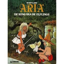 Aria - 006 De ring van de Elflings - eerste druk 1985 - Lombard uitgaven