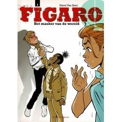 Figaro - 001 Het masker van de wereld - herdruk