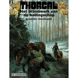 Thorgal - 020 Het brandmerk van de ballingschap - herdruk