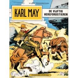 Karl May - 050 De vijftig Herefordstieren - eerste druk 1977 - Standaard Uitgeverij - 2e reeks