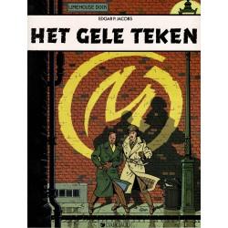 Blake en Mortimer - 006 Het gele teken - herdruk 1995
