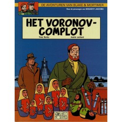 Blake en Mortimer - 014 Het Voronov-complot - eerste druk 2000