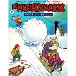 De Muziekbuurters - 002 Door dik en dun - eerste druk 2002
