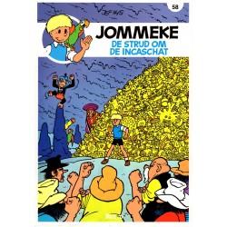 Jommeke - 058 De strijd om de Incaschat - herdruk - nieuwe cover