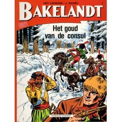Bakelandt - 002 Het goud van de consul - herdruk - Standaard Uitgeverij