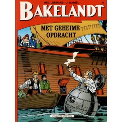 Bakelandt - 010 Met geheime opdracht - herdruk - Standaard Uitgeverij