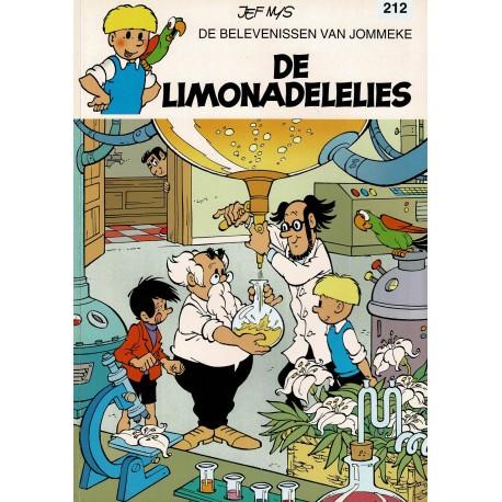 Jommeke - 212 De limonadelelies - eerste druk
