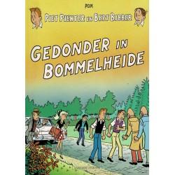 Piet Pienter en Bert Bibber - 033 Gedonder in Bommelheide - herdruk 1997, zwart-wit