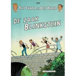 Piet Pienter en Bert Bibber - 034 De zaak Blinkstein - herdruk 1997, zwart-wit