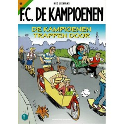 F.C. De Kampioenen - 108 De kampioenen trappen door - eerste druk 2020 - Standaard Uitgeverij