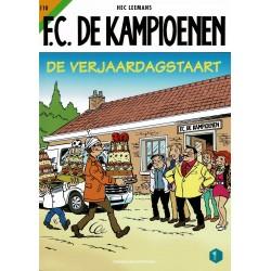 F.C. De Kampioenen - 110 De verjaardagstaart - eerste druk 2020 - Standaard Uitgeverij