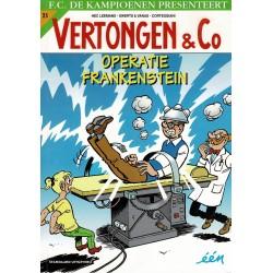 Vertongen & Co - 025 Operatie Frankenstein - eerste druk 2018