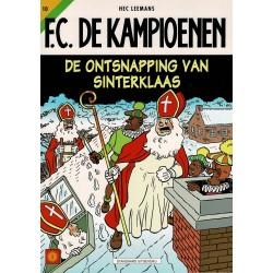F.C. De Kampioenen - 010 De ontsnapping van Sinterklaas - eerste druk 1999 - Standaard Uitgeverij