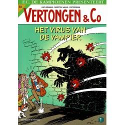 Vertongen & Co - 033 Het virus van de vampier - eerste druk 2021