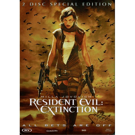 Resident Evil: Extinction - 2 disc special edition, metal case