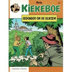 Kiekeboe - 054 Gedonder om de bliksem - eerste druk