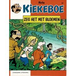 Kiekeboe - 057 Zeg het met bloemen - eerste druk