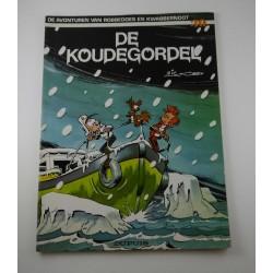 Robbedoes en Kwabbernoot - 30 De koudegordel - herdruk