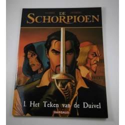 De Schorpioen - 01 Het teken van de duivel - herdruk