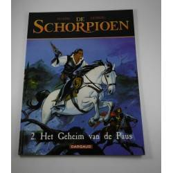 De Schorpioen - 02 Het geheim van de paus - herdruk
