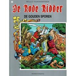 De Rode Ridder - 002 De gouden sporen - herdruk in kleur