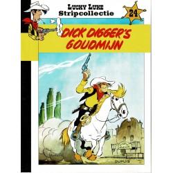 HLN Lucky Luke Stripcollectie - 24 Dick Digger's goudmijn