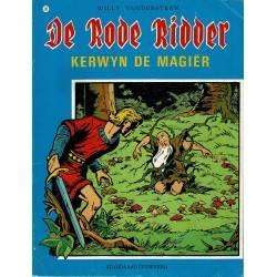 De Rode Ridder - 020 Kerwyn de magiër - herdruk in zwart-wit
