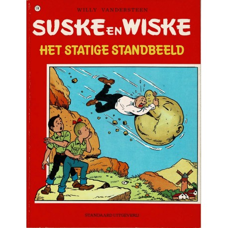 Suske en Wiske - 174 Het Statige Standbeeld