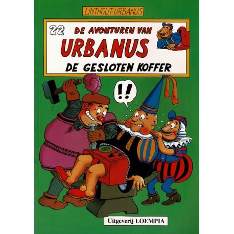 Urbanus - 022 De gesloten koffer - eerste druk