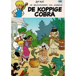 Jommeke - 189 De koppige cobra - eerste druk