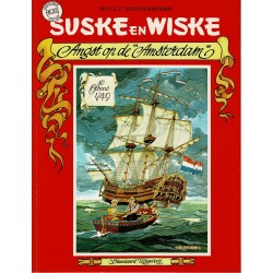 Suske en Wiske - 202 Angst op de Amsterdam - eerste druk