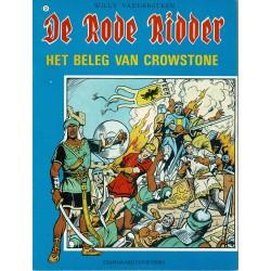 De Rode Ridder - 033 Het beleg van Crowstone - herdruk in zwart-wit