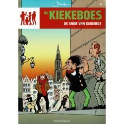 De Kiekeboes - 023 De snor van Kiekeboe - herdruk