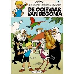 Jommeke - 008 De ooievaar van Begonia - herdruk