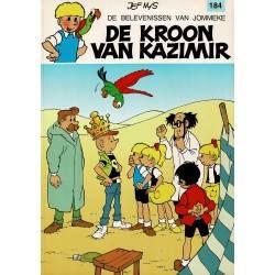 Jommeke - 184 De kroon van Kazimir - eerste druk