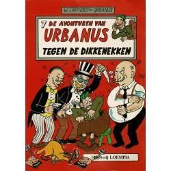 Urbanus - 007 Tegen de dikkenekken - eerste druk