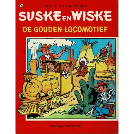 Suske en Wiske - 162 De Gouden Locomotief