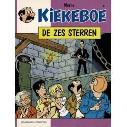 Kiekeboe - 061 De zes sterren - eerste druk